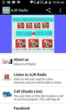 AjrRadio screenshot 4