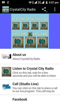 Crystal City Radio poster