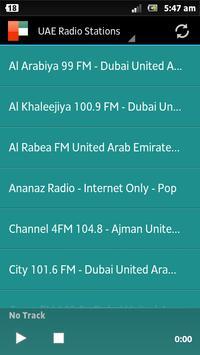 Abu Dhabi Radio stations poster