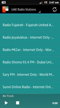 Abu Dhabi Radio stations screenshot 2