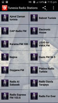Tunis Radio Stations poster