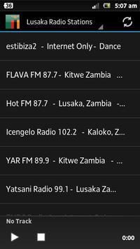 Lusaka Radio Stations poster