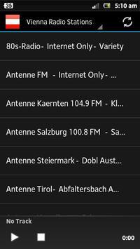 Vienna Radio Stations poster