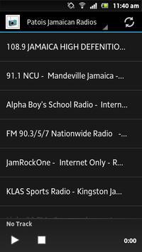 Patois Jamaican Radios poster