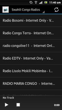 Swahili Congo Radios poster