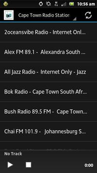 Cape Town Radio Stations poster