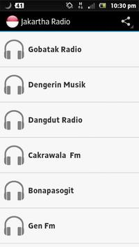 Jakarta  Radios poster