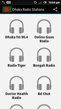 Dhaka Radio Stations poster