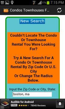 Condos Townhouses For Rent USA apk screenshot