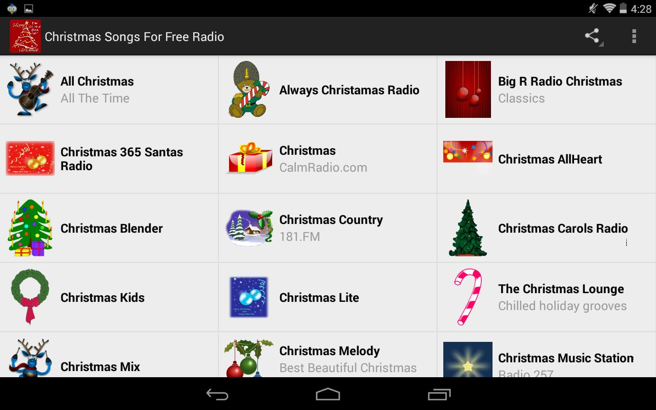 Christmas Songs For Free Radio for Android - APK Download