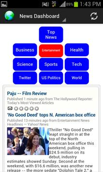 News Dashboard for RSS Feeds apk screenshot