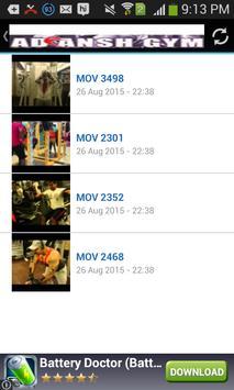 Adiansh Gym apk screenshot