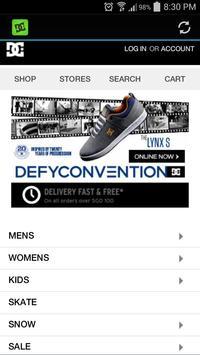 DC Shoes apk screenshot