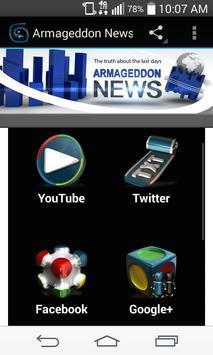 Armageddon News apk screenshot