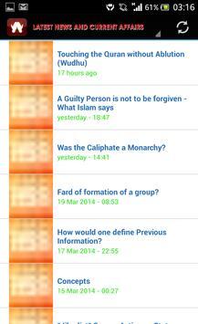 Latest Islamic News apk screenshot