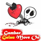 Gambar Galau Move on icon