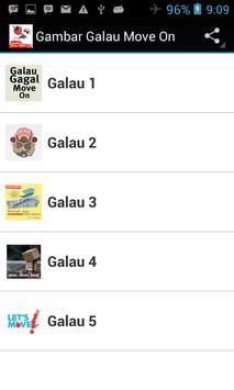 Gambar Galau Move on poster