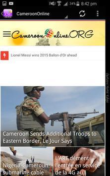Cameroun Actualités screenshot 3