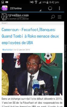 Cameroun Actualités screenshot 4