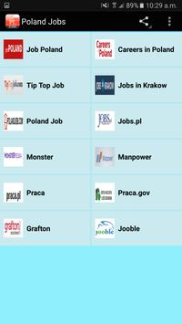 Poland Jobs poster