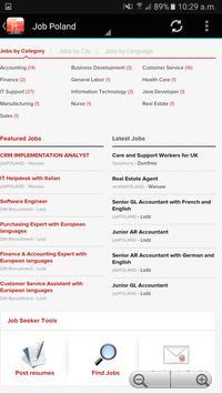 Poland Jobs screenshot 1