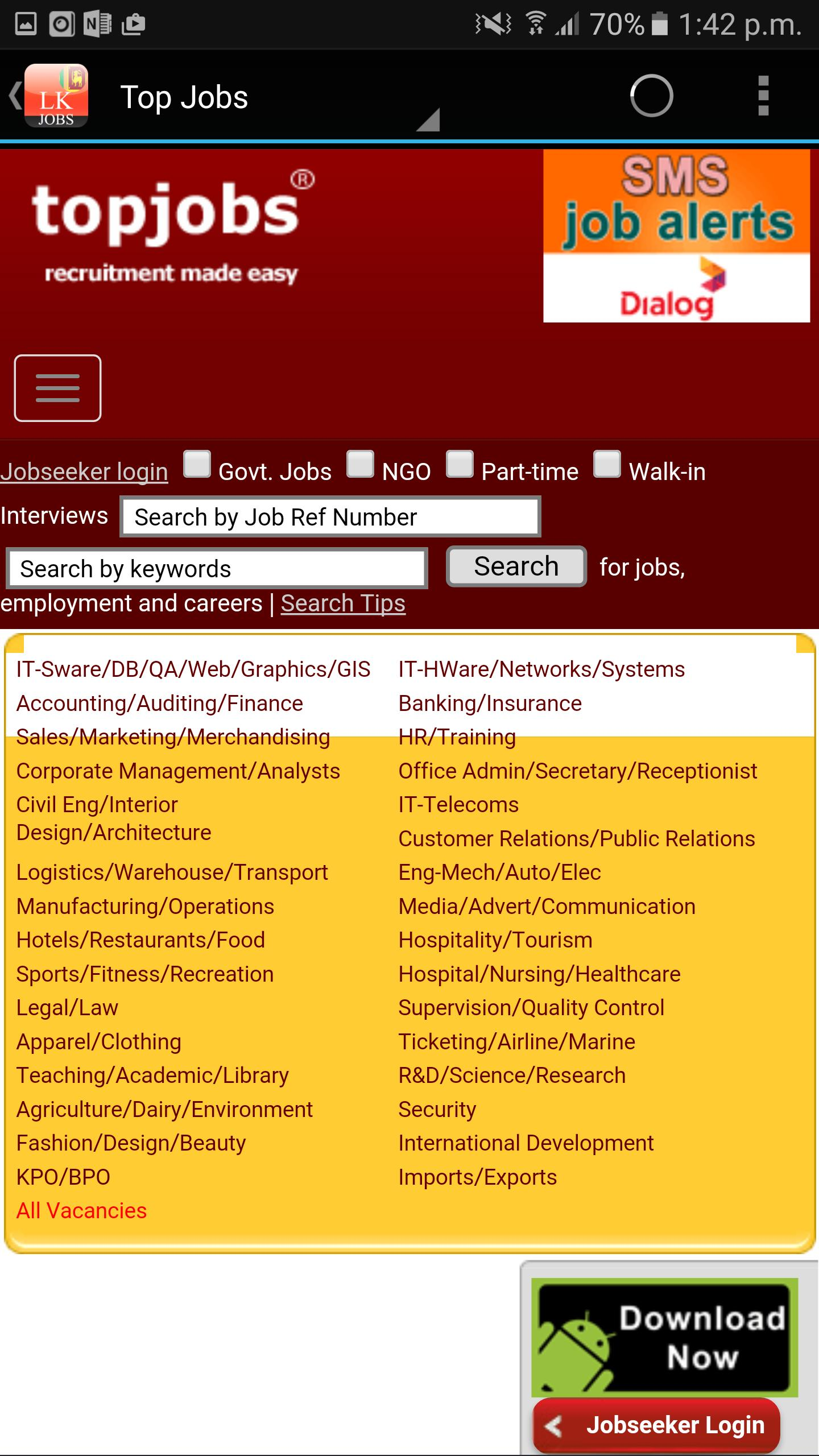 Sri Lanka Jobs For Android Apk Download