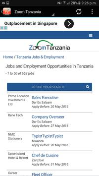 Tanzania Jobs screenshot 3