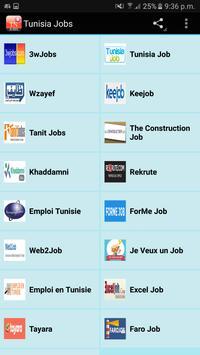 Tunisia Jobs poster