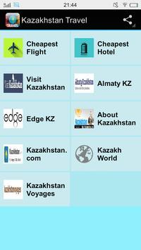 Kazakhstan Travel poster
