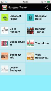 Hungary Travel poster