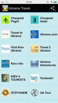 Ukraine Travel poster