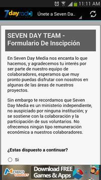 Seven Day Radio apk screenshot