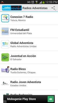 Radios Adventistas poster