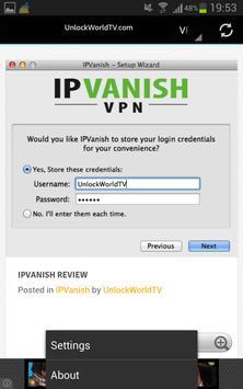 Unlock World TV apk screenshot