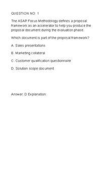 SAP A1FIN_10 Exam Free apk screenshot