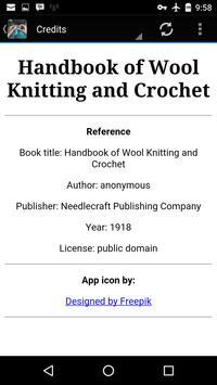 Wool Knitting & Crochet Guide apk screenshot