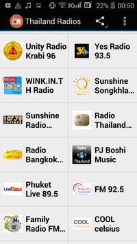 Thailand Radios apk screenshot