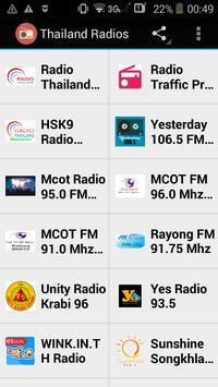 Thailand Radios poster