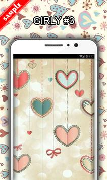 Girly Wallpapers apk screenshot