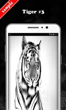 White Tiger Wallpaper screenshot 3