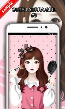Cute Laurra Girl screenshot 3
