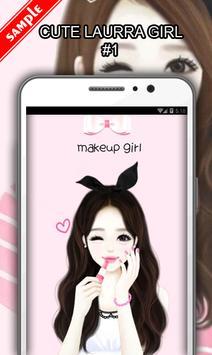Cute Laurra Girl screenshot 1
