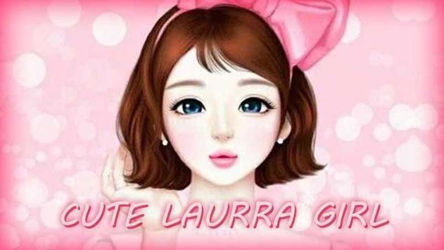Cute Laurra Girl Wallpapers apk screenshot
