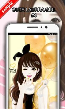 Cute Laurra Girl screenshot 4