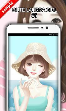 Cute Laurra Girl screenshot 5