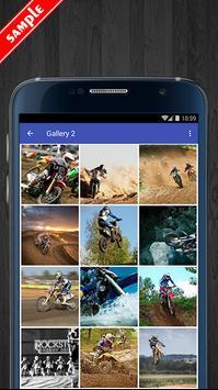 Motocross Wallpaper HD Pack screenshot 2
