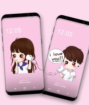 Couple Wallpaper (For Two Phone) screenshot 3
