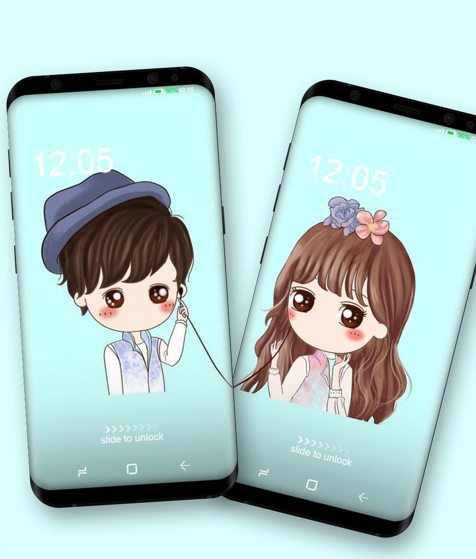 Couple Wallpaper For Two Phone For Android Apk Download