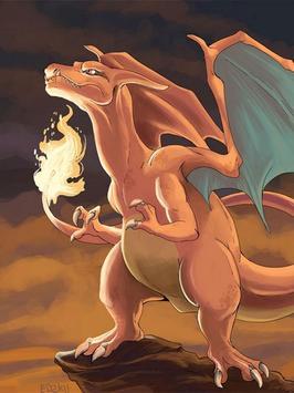 Charizard Fire Poke Wallpaper screenshot 3