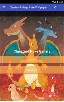 Charizard Fire Poke Wallpaper poster